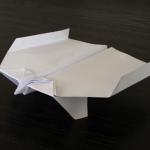 Et voilà: Thinkpunk Papierflieger