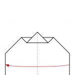 09) Entlang der Mitte zusammenfalten