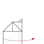 10) Oberen Flügel nach unten falten