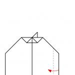 11) Flügelspitze nach oben falten