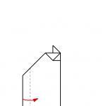 14) Flügelspitze nach oben falten